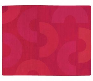 "Tufenkian Nepal (8'2 x 10' Estate $1,795) ""C ME"" design, Crimson"