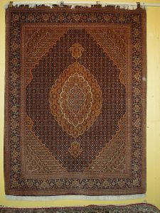 Tabriz (wool/silk) 4'11 x 6'7 - $6,600 sale $4,600