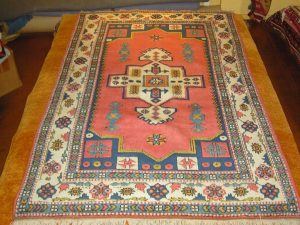 SOLD - Kars Anatolia - Wool/wool (5'7 x 8'7 Estate $1,150)