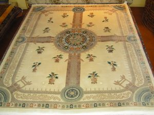 Chinese Aubusson Circa 1980's (7'1  x 10'3 Estate $795)