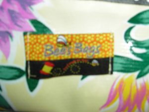 Bee's Bags - Hand made colorful sturdy detailed totes - $55 Oil Cloth - $75 Authentic Guatemalan Fabric