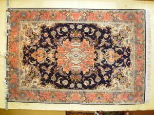 Tabriz {Wool & Silk} - 3'2 x 5'