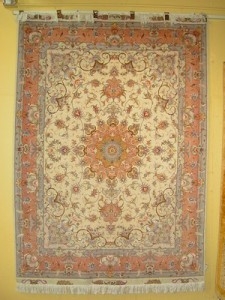 Tabriz {Wool & Silk} 5' x 7'