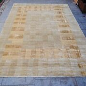 "Nepal - Tufenkian, ""Not All Squares"" design (9'9 x 13'9 Estate $5,995)"